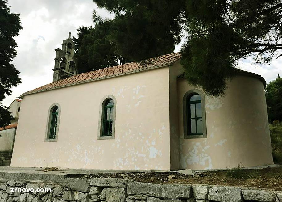 Sveti Anton Church, Brdo Hamlet